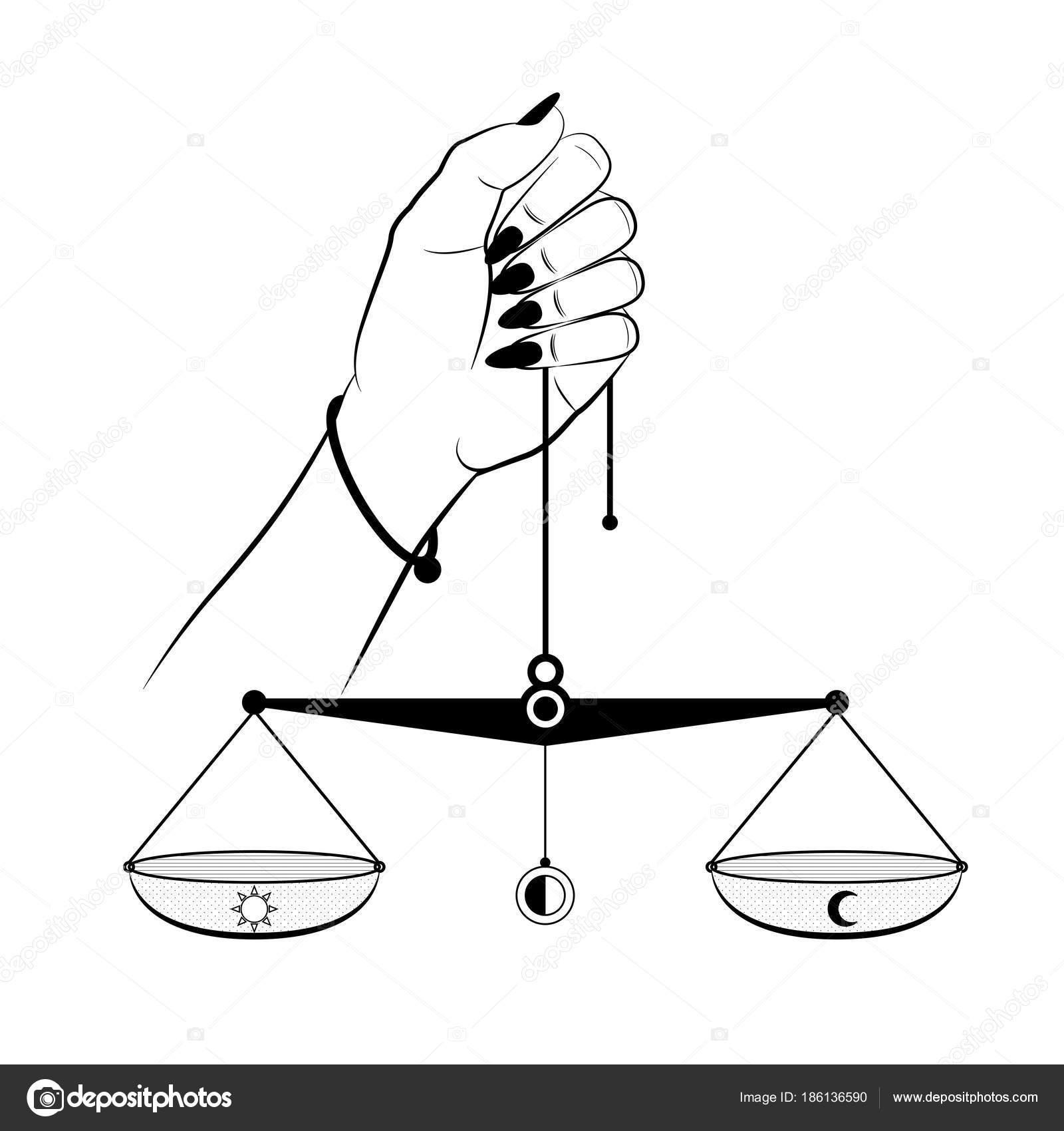 Peso Scala Stretta Giustizia In Blocco Giudice Civile Destra Diritto