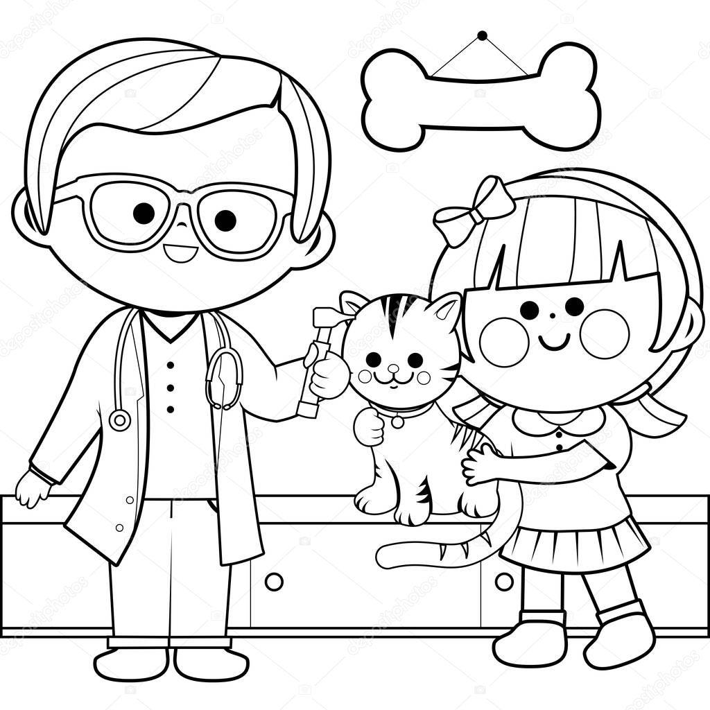Im genes dibujo de una veterinaria