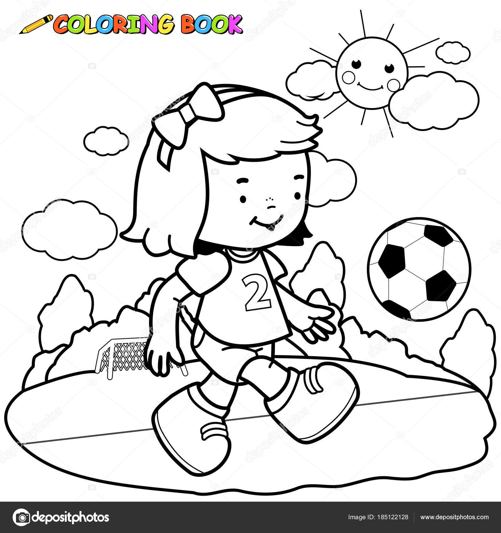 Best Girl Soccer Player Coloring Pages Ideas - Professional Resume ...