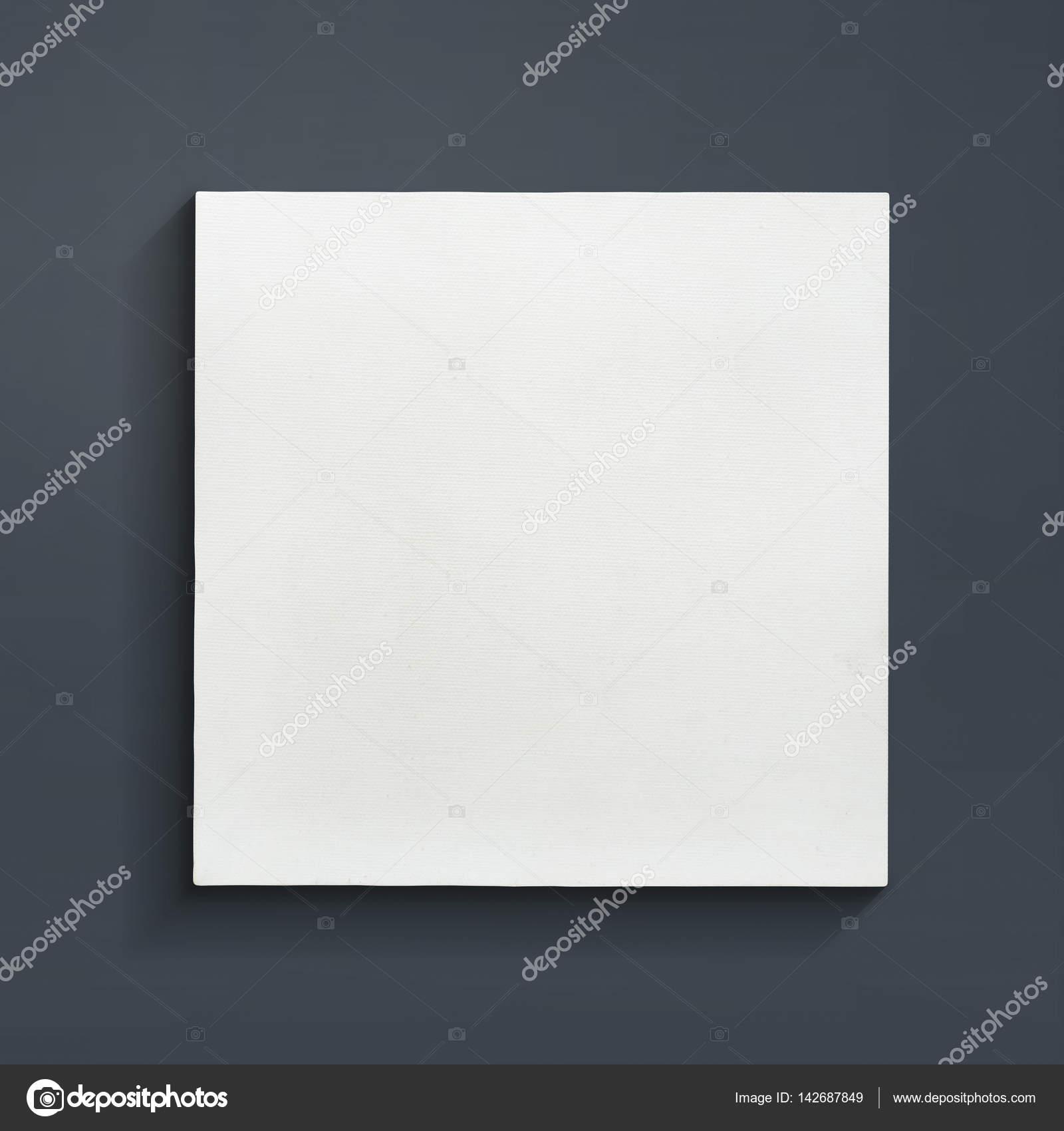 Leere Keilrahmen auf grauem Hintergrund — Stockfoto © praew_p_1985 ...