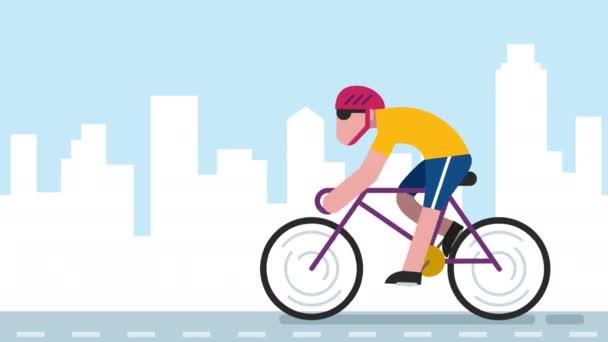 Cyklo City animace