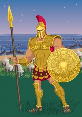Greek Hero Achilles