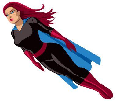 Super Heroine Flying