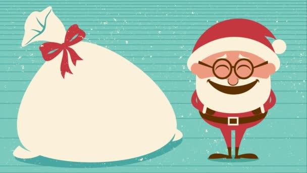 Santa se smíchem animace