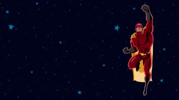 2 spazio di volo del supereroe