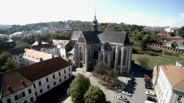 letecké záběry Brno do kostela