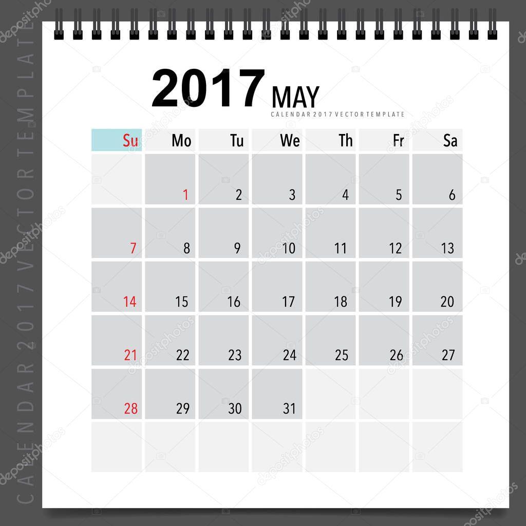 2017 calendar planner vector design monthly calendar template f 2017 calendar planner vector design monthly calendar template f stock vector saigontimesfo