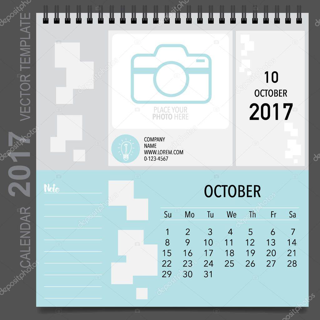 Atemberaubend Monatliche Leere Kalendervorlage Zeitgenössisch ...