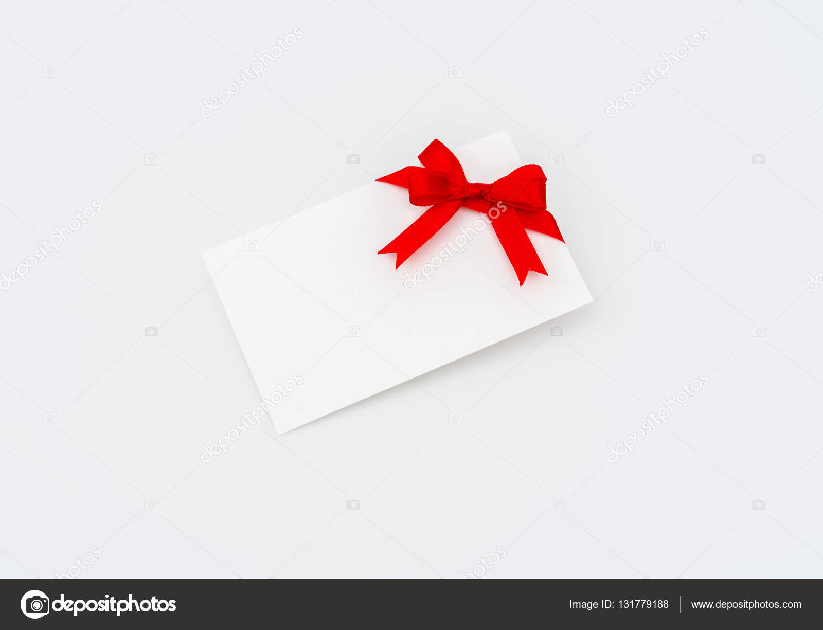 card with red ribbons bows stock photo jannystockphoto 131779188