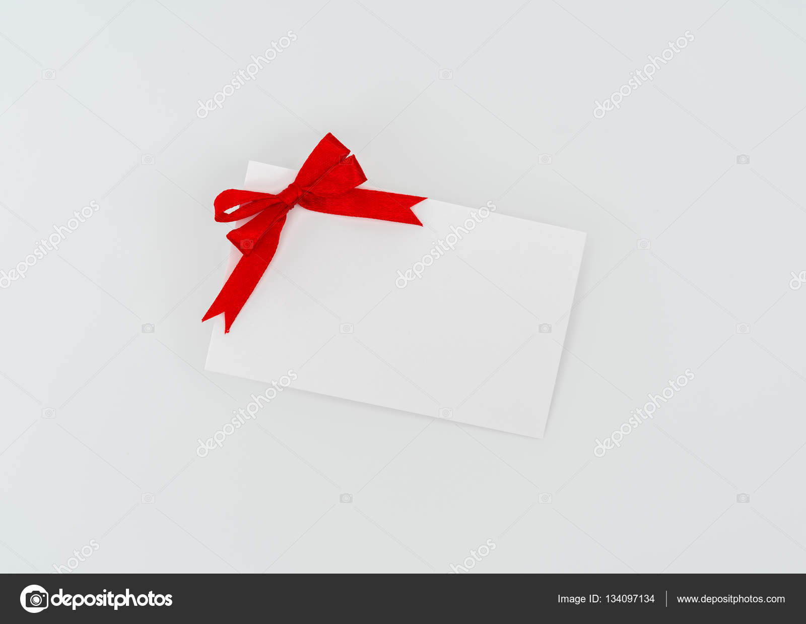card with red ribbons bows stock photo jannystockphoto 134097134