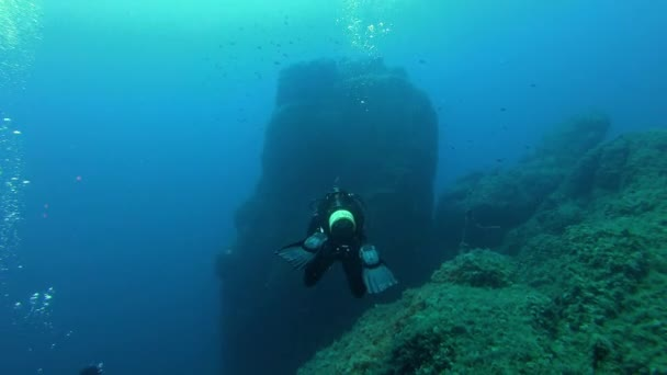 Scuba diver - Underwater scene