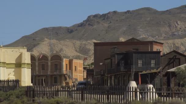 Staré město západní Film Set Mini Hollywood Španělsko