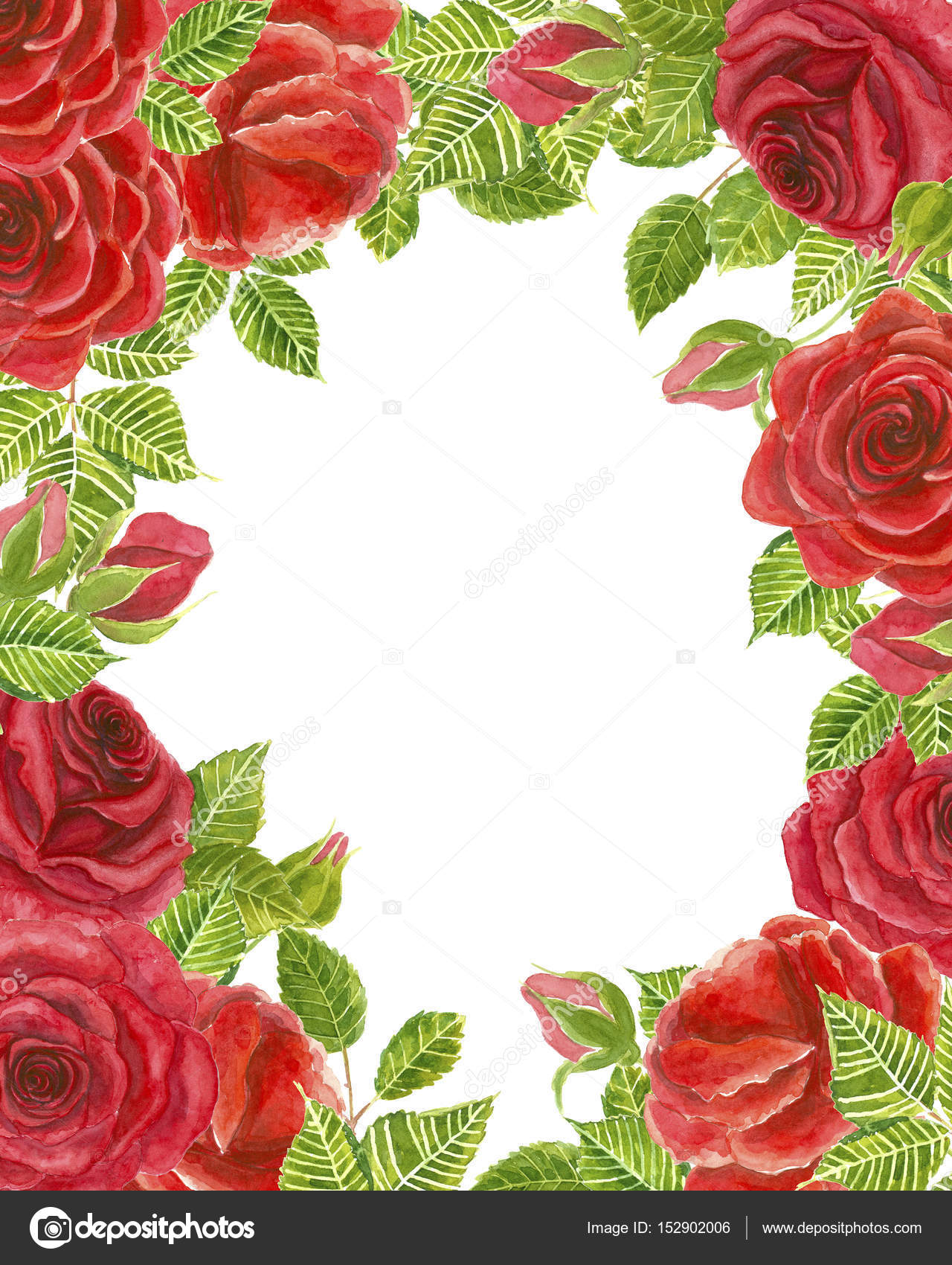 Cornice di rose rosse foto stock katerinamk 152902006 for Quadri con rose rosse