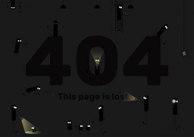 Page not found, lost. error 404