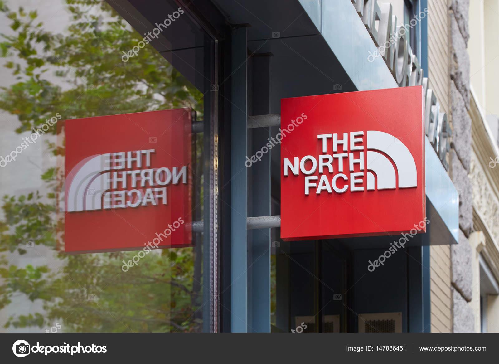 tienda de north face en nueva york