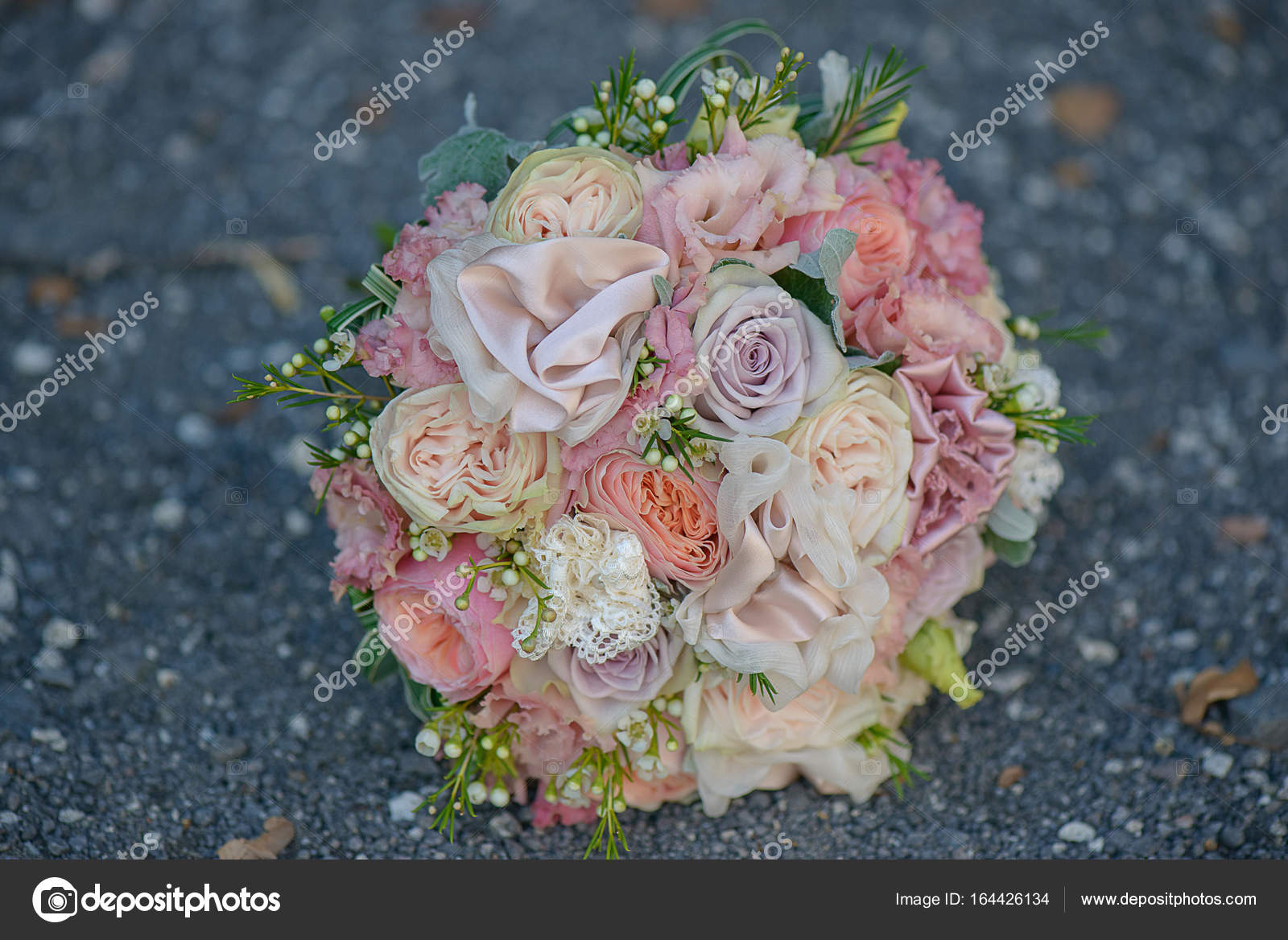 Roses Peonies And Silk In A Delicate Pastel Dusky Pink Bridal