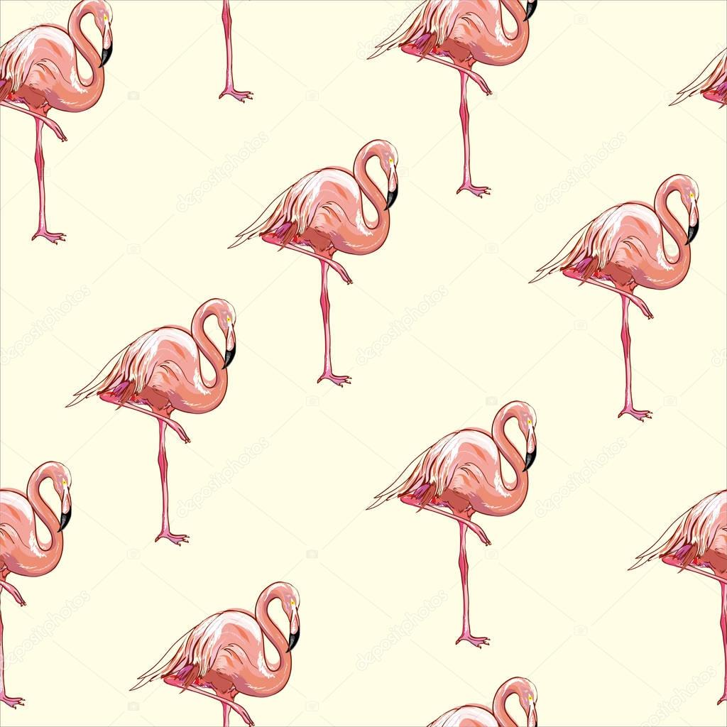 Textile Stock Distributors Mail: Beautiful Seamless Vector Tropical Pattern Background With