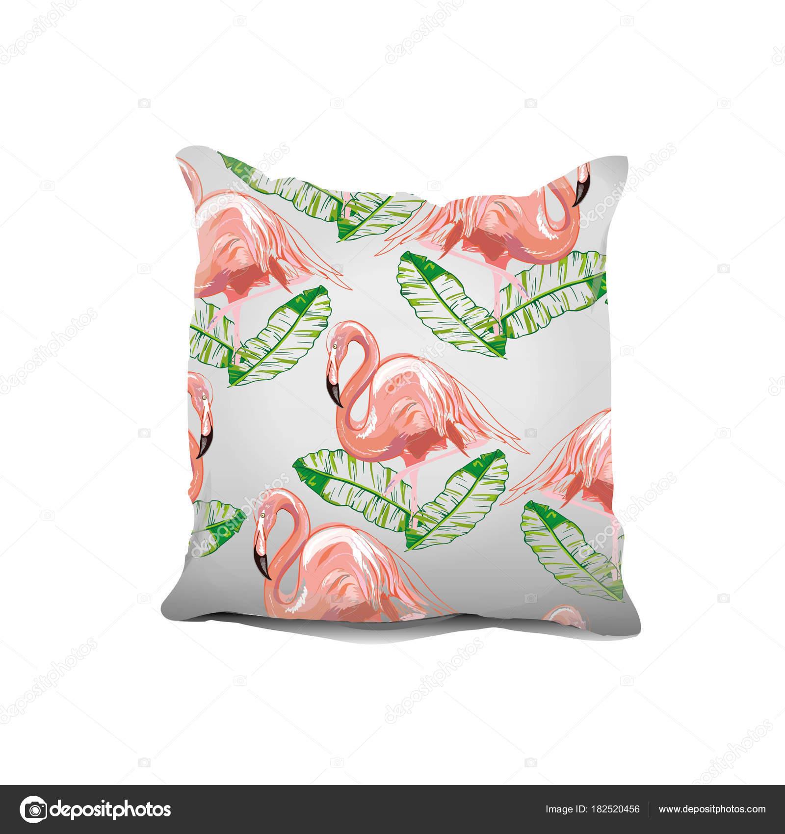 Élément de design d'intérieur : oreiller décoratif avec motifs on