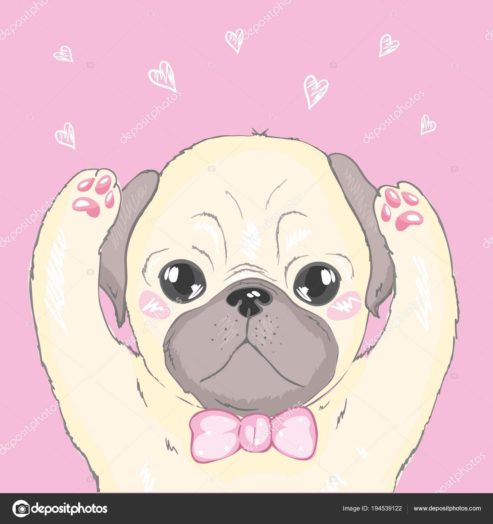 Cartoon Puppy Wallpaper Vector Seamless Pattern With Cute Cartoon Dog Puppies Can Be Used As A Background Wallpaper Fabric And For Other Design French Bulldog Pattern Stock Vector C 89534886399 Mail Ru 194539122