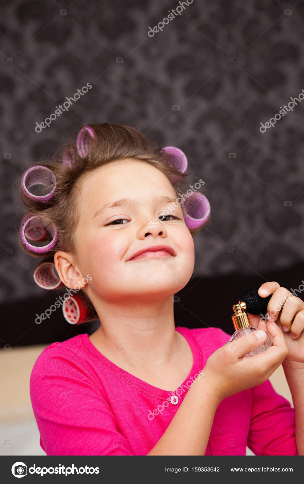 Doet een meisje spuiten