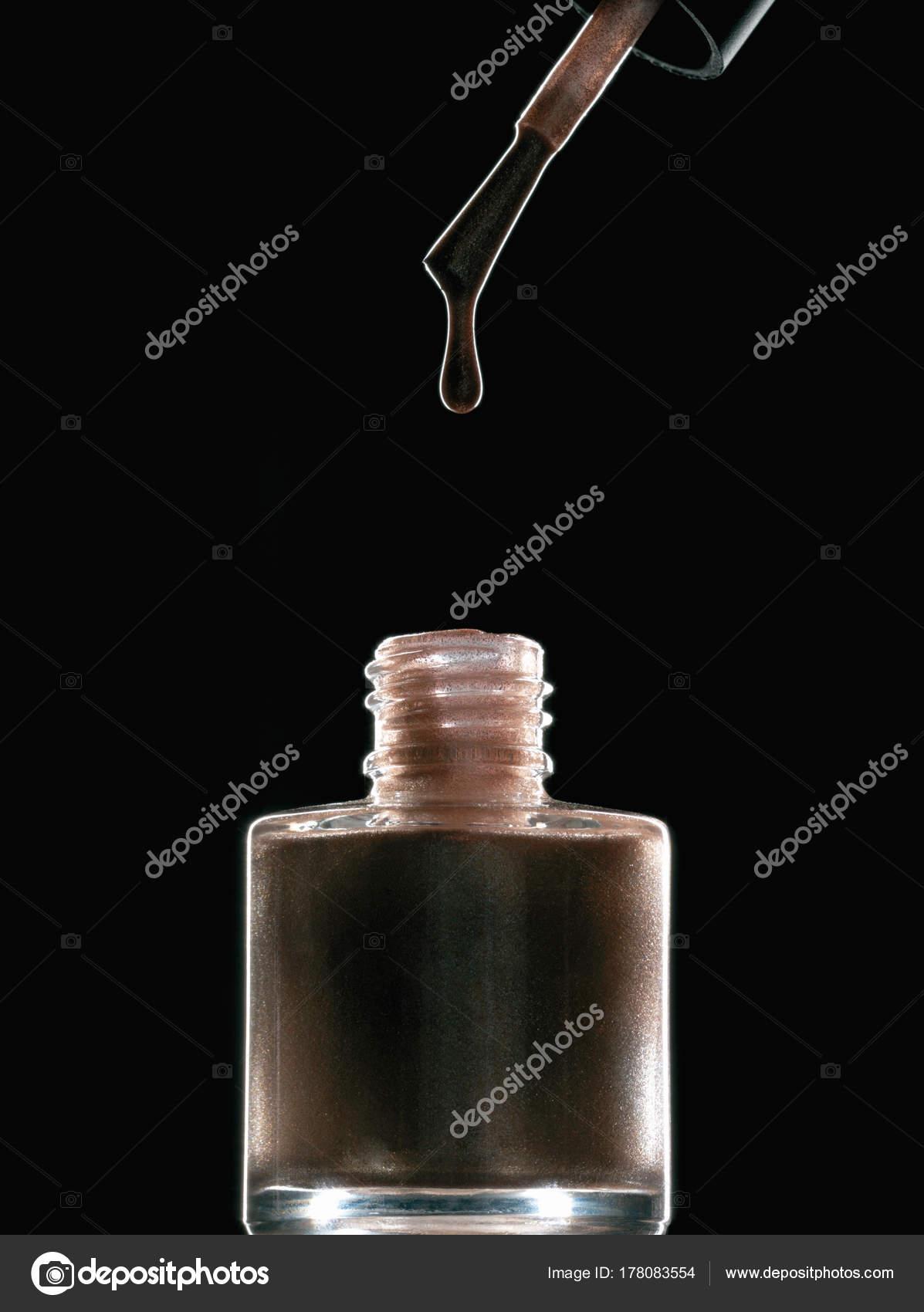 Lujoso Negro Foto Uñas Chispa Regalo - Ideas Para Pintar Uñas ...