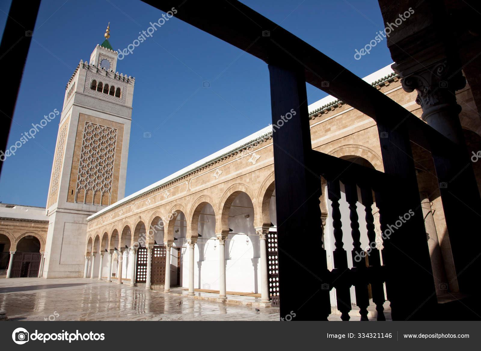 Al Zaytuna Mosque Tunis Tunisia Stock Photo C Imagesource 334321146