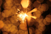 slavnostní jiskřivé blikání bokeh pozadí Vánoce a Nový rok a jiskra
