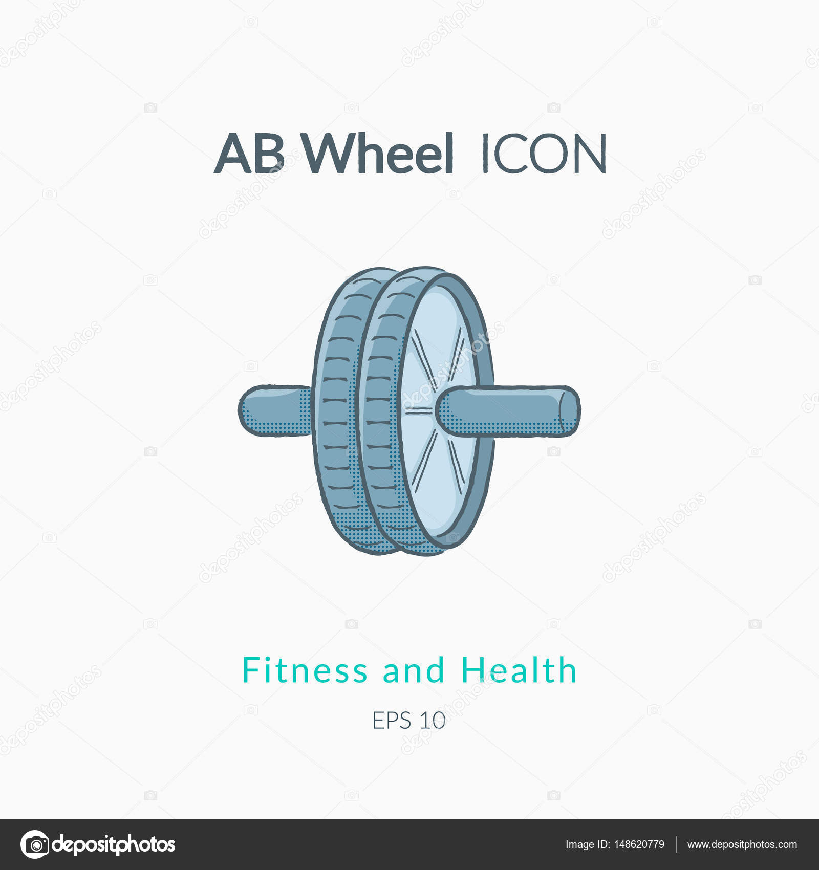 ab wheel icon isolated on white stock vector chuhail 148620779 rh  depositphotos com