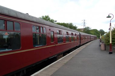 Passenger Carriages at Bitton Railway Station