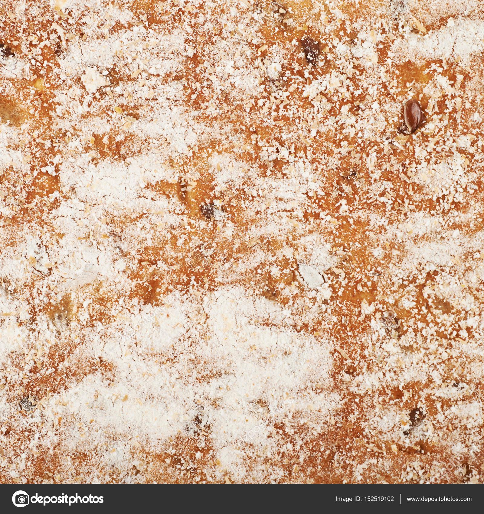 Bread crust texture