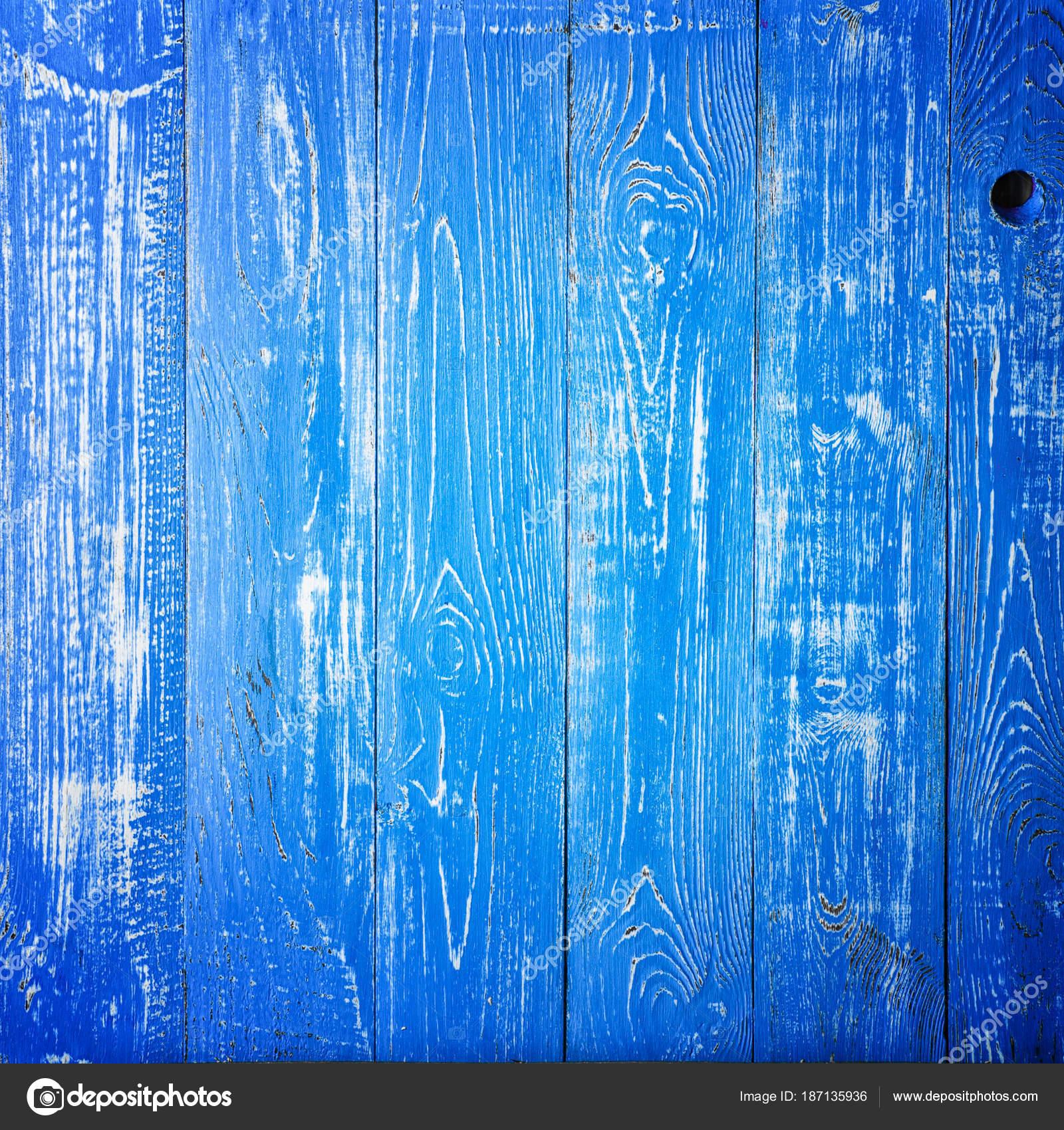 Consistenza Del Pannello Di Legno Blu Per Sfondo Verticale Foto