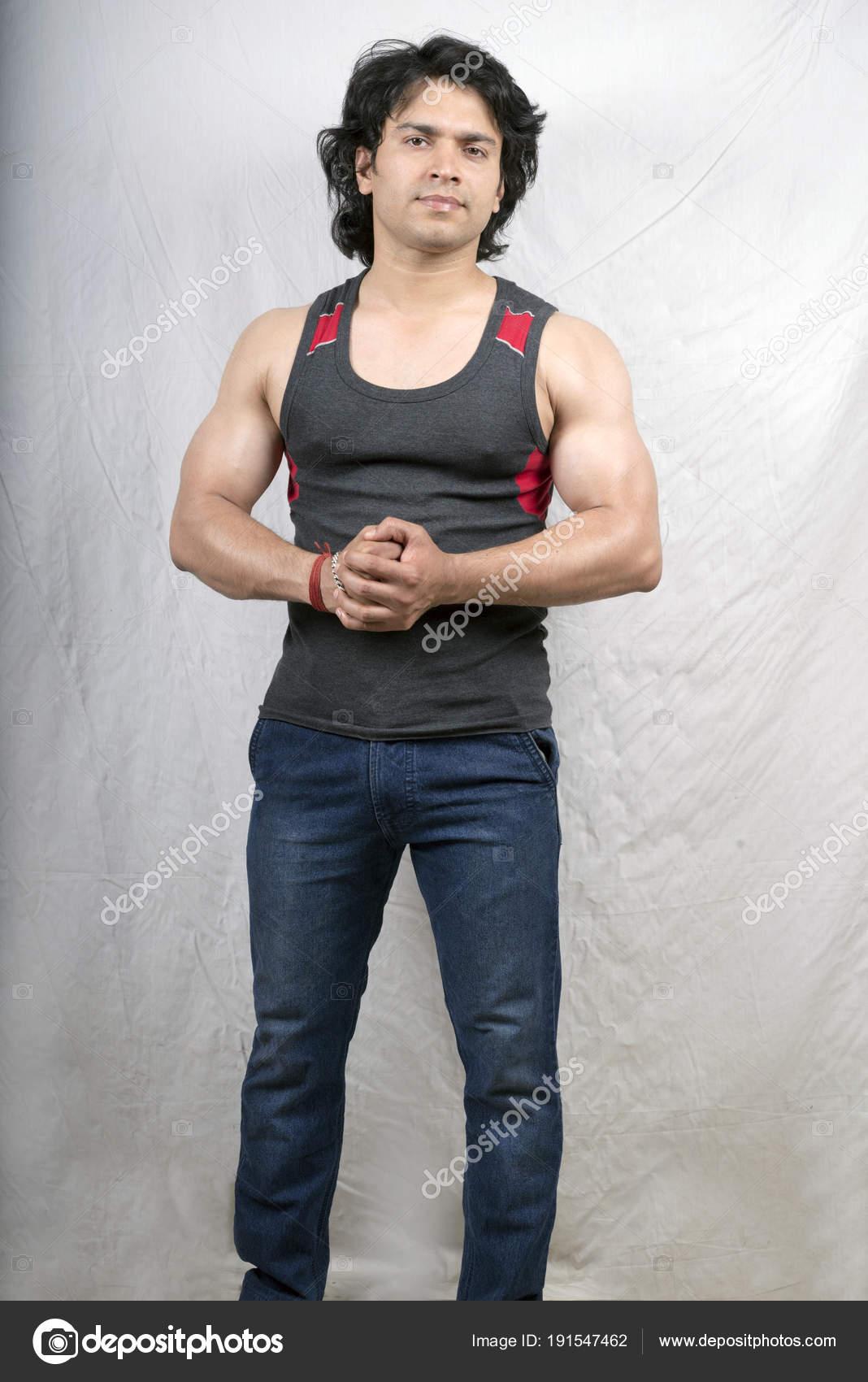 Images Indian Models Male Indian Male Model In Grey Vest Stock Photo C Rioillustrator 191547462