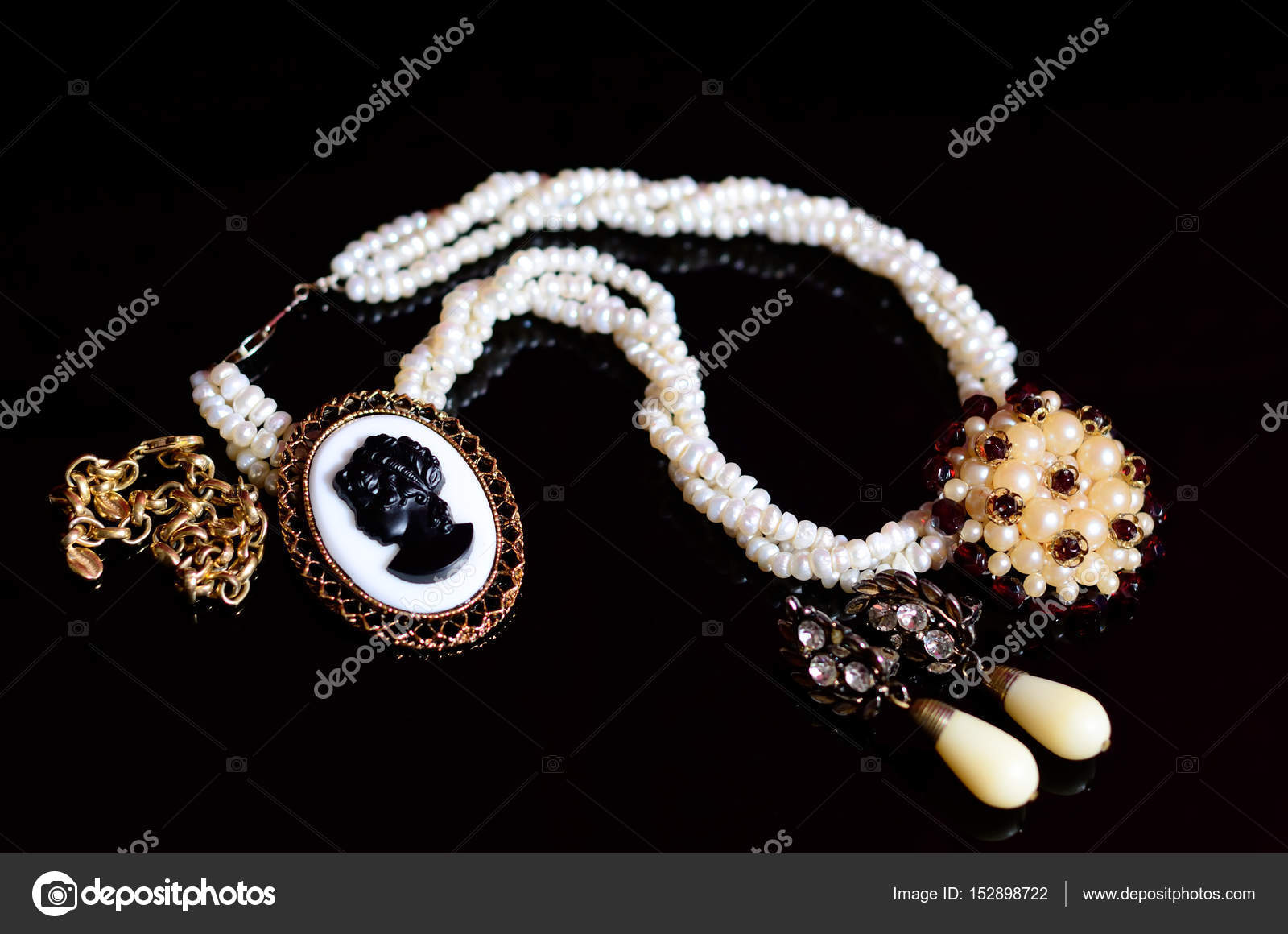 Antique vintage cameo jewelry stock photo oleksandrua 152898722 antique vintage cameo jewelry photo by oleksandrua aloadofball Choice Image
