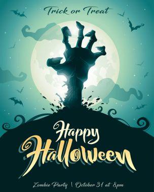 Halloween Zombie party.