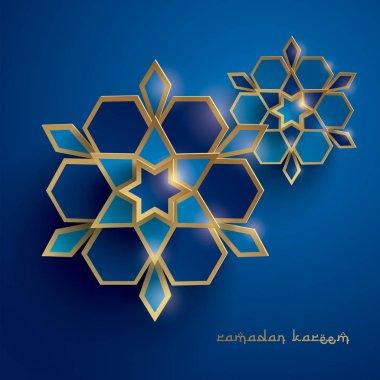 abstract ramadan geometry flowers
