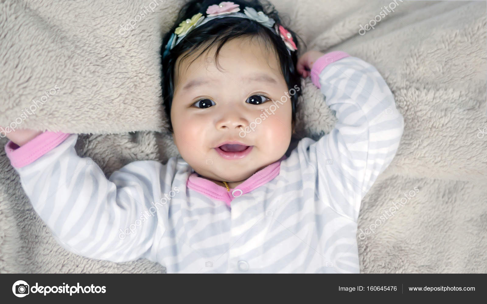 asian cute baby girl — stock photo © rakratchada #160645476