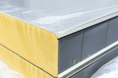 insulation panel, close up