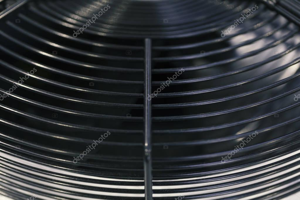 industrial fan on cooling unit