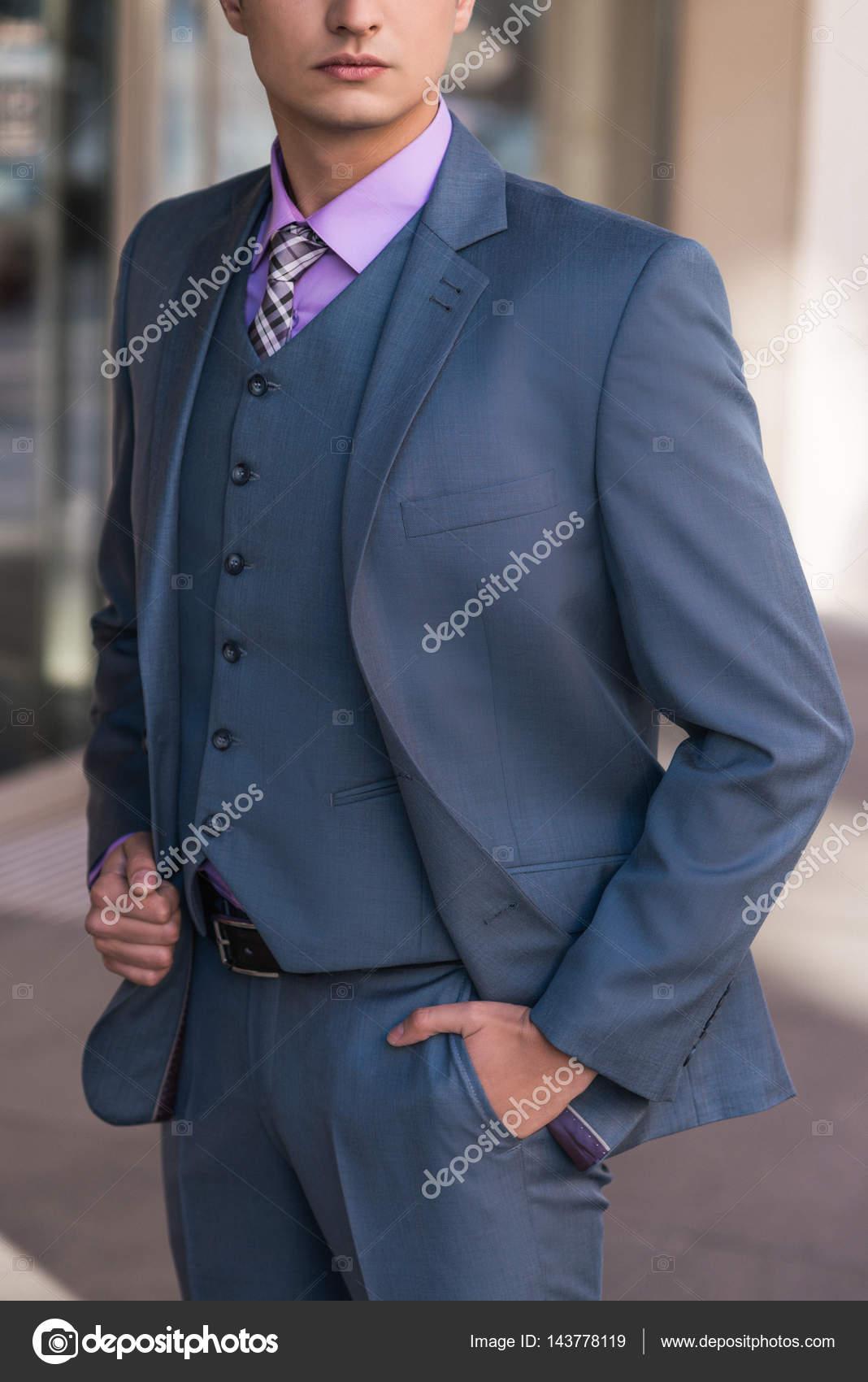 Welcher mantel zu blauem anzug