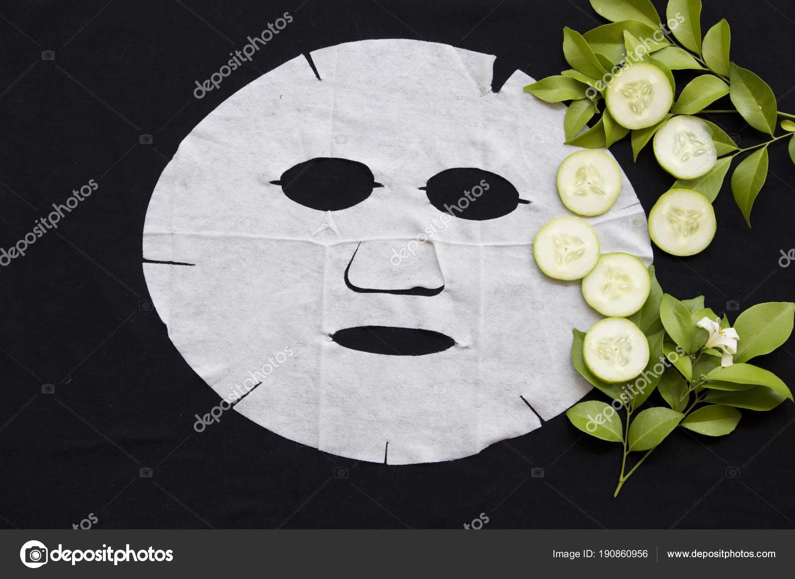 Cura della salute maschera foglio naturale illuminare viso pelle