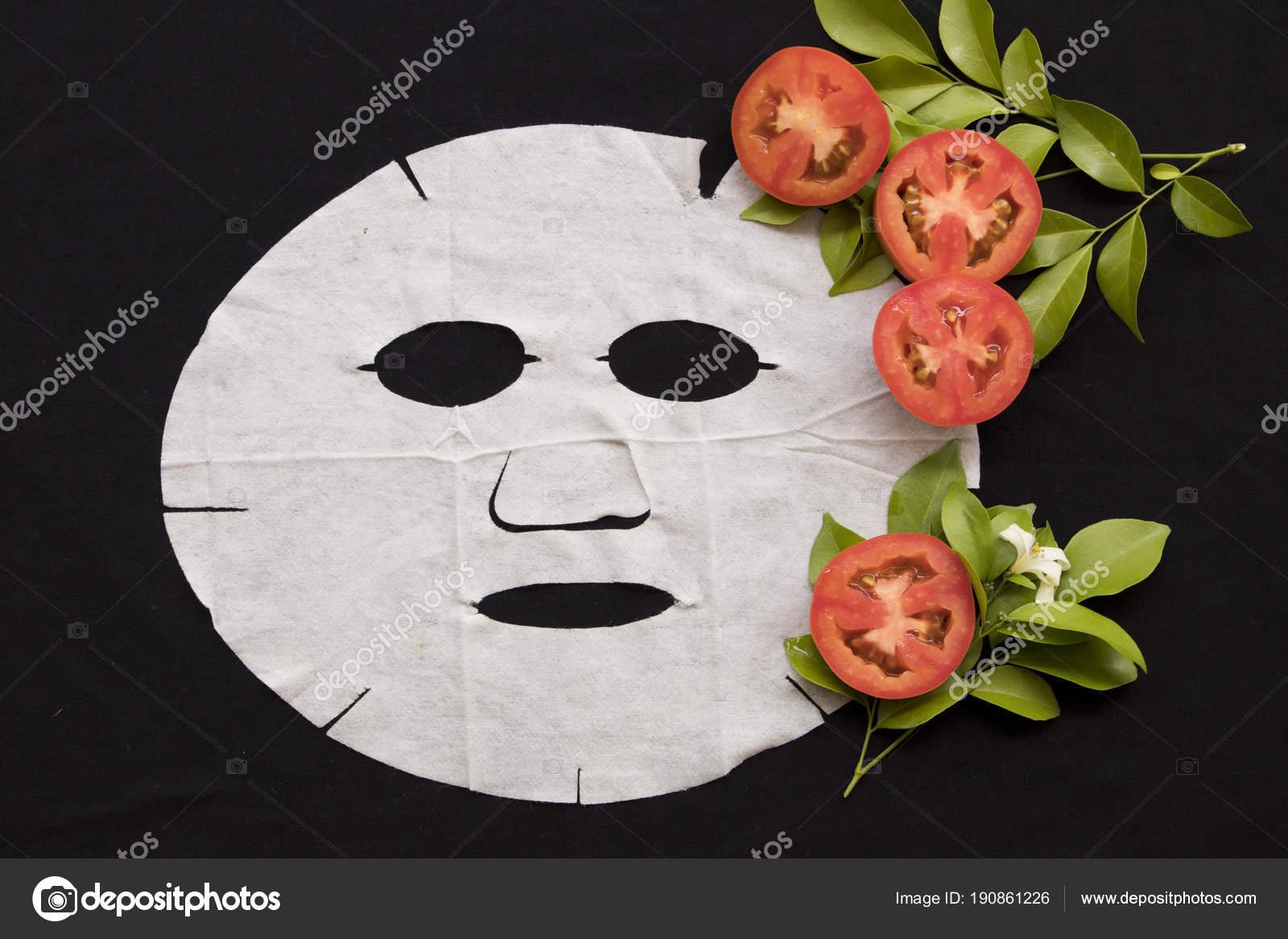 Cura della salute maschera foglio naturale illuminare pelle viso
