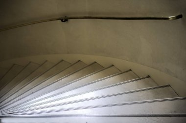 turning marble stairs