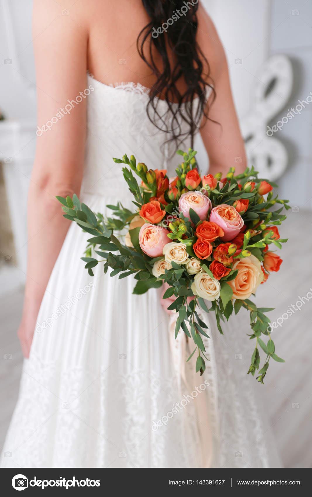 Bright Wedding Bouquet Stock Photo C Zoom01 143391627