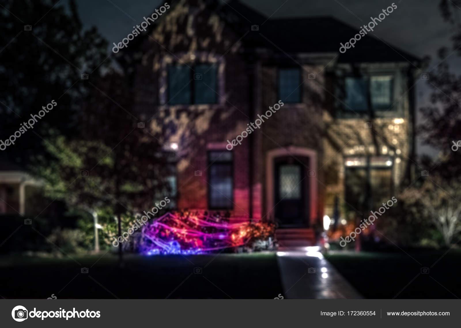 Halloween Verlichting.Halloween Huis Verlichting Stockfoto C Marchello74 172360554