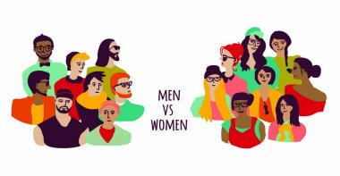 Men and women groups