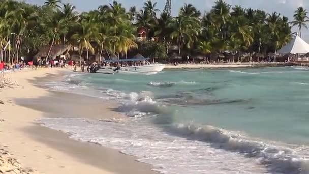 Bayahibe strand Dominicus a Dominikai Köztársaságban