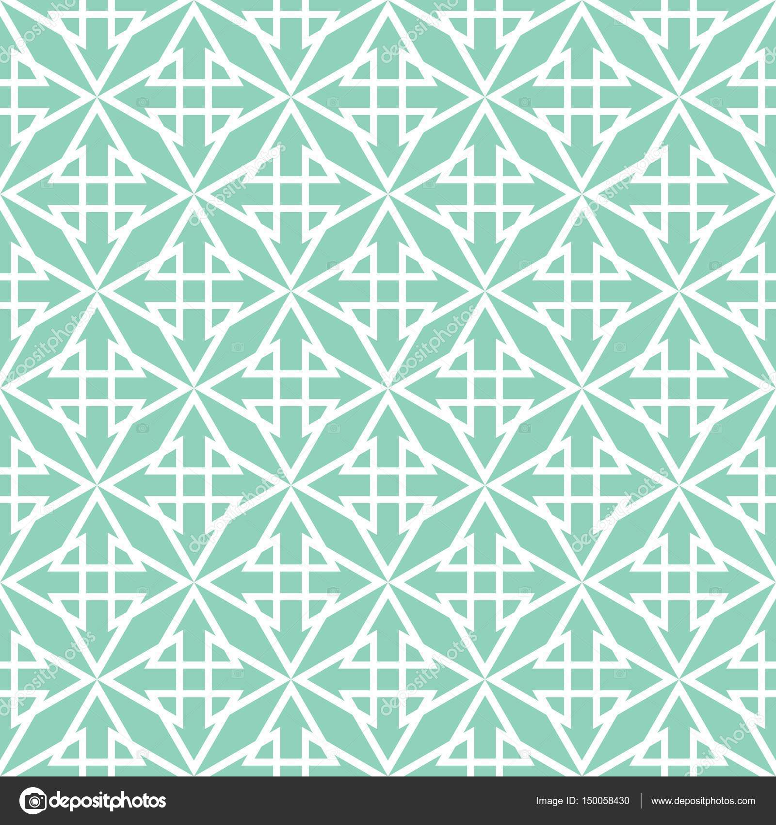 Tile pastel green and white vector pattern — Stock Vector © mala-ma ...