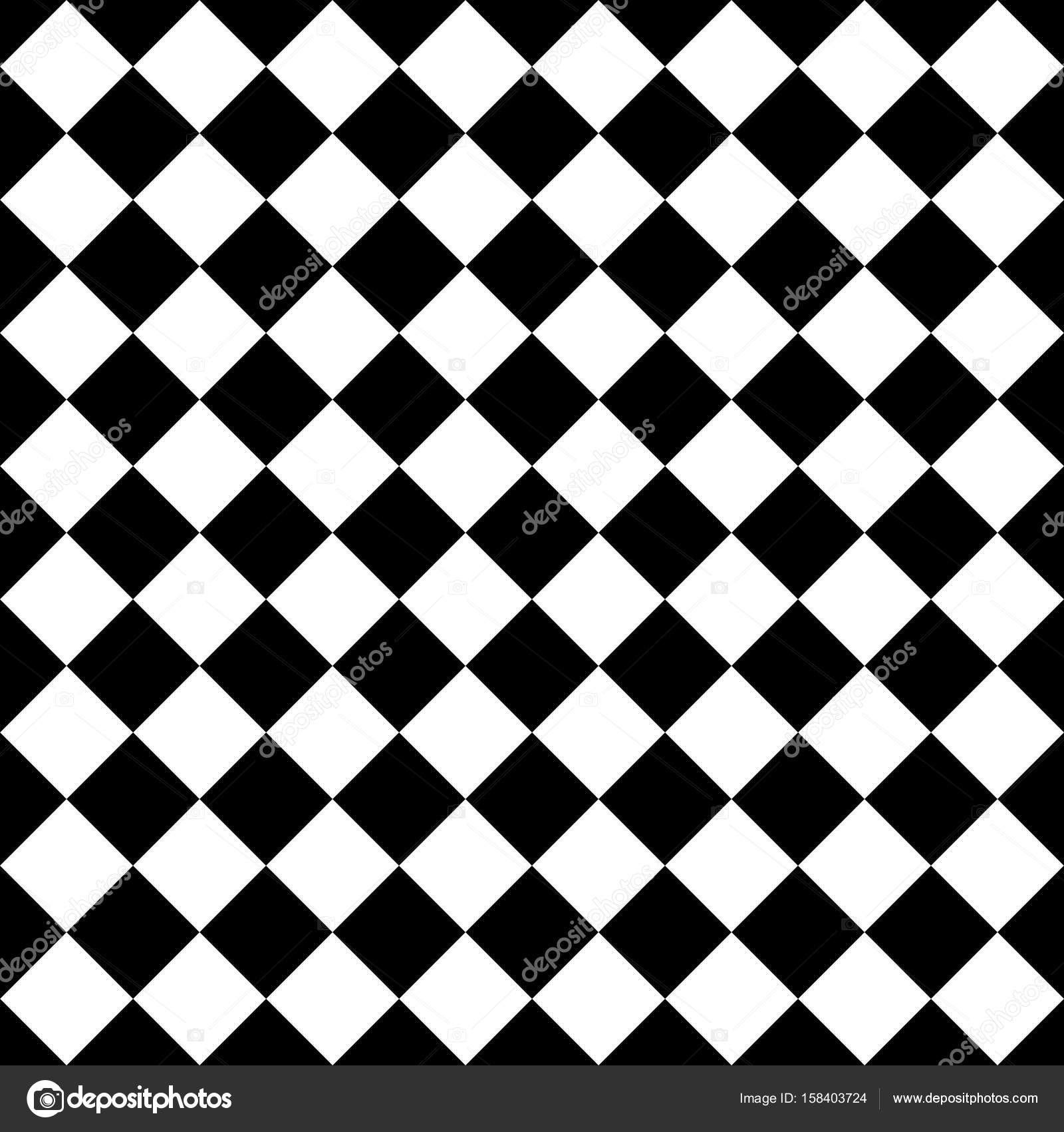 Zwart Wit Tegels.Tegel Zwart Wit Vector Patroon Stockvector C Mala Ma 158403724
