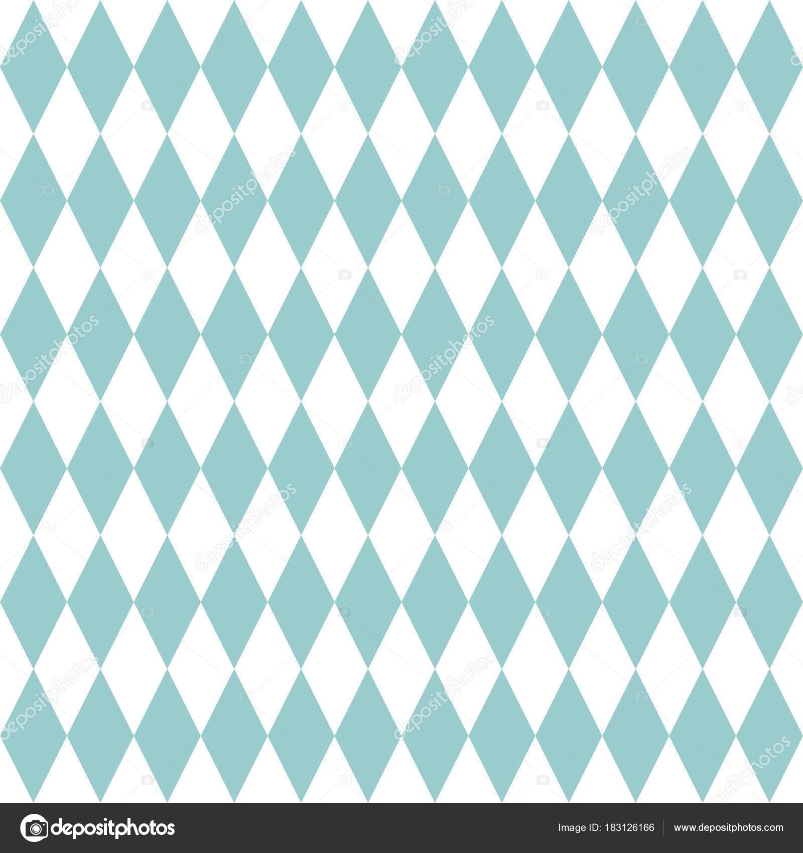 Tile Vector Pattern Mint Green White Wallpaper Background — Stock ...