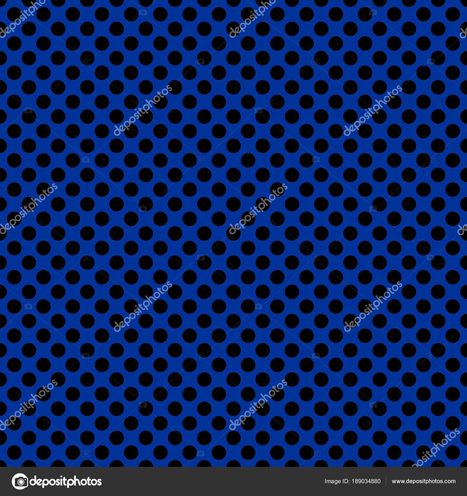12183f539f Σχέδιο Κεραμιδιών Διάνυσμα Μαύρο Πουά Ναυτικό Μπλε Φόντο — Διανυσματικό  Αρχείο